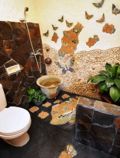 ide desain kamar mandi batu alam minimalis