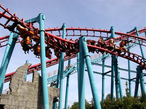 theme park belgium vire roller coaster photos