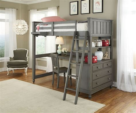 twin size loft bed with desk 2040 twin size loft bed with desk workstation lakehouse