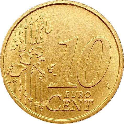 10 buro cent 10 cent 1st map italy numista
