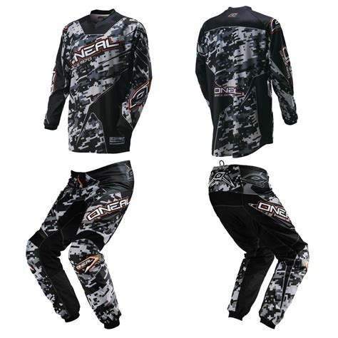 motocross bike gear oneal element digi camo youth motocross mx dirtbike