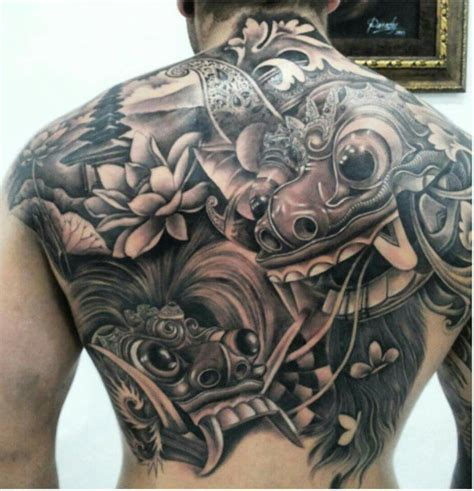 foto tattoo barong barong tattoo tatto pinterest
