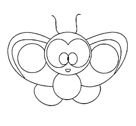 imagenes de mariposas animadas para dibujar dibujo de mariposa 2 para colorear dibujos net