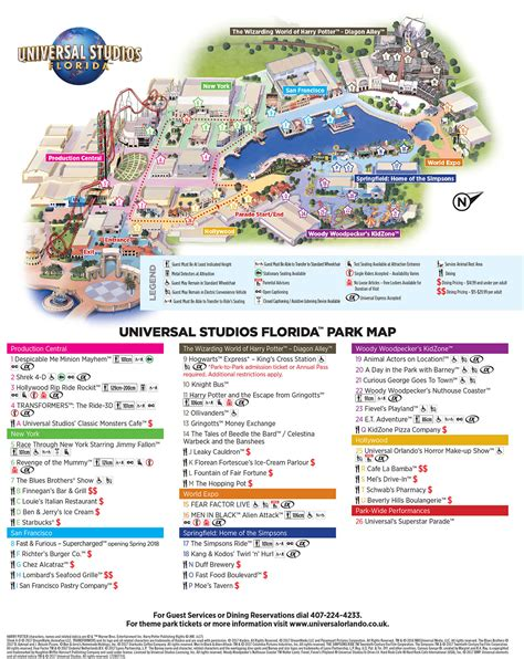 universal studios orlando map florida theme park maps doingflorida