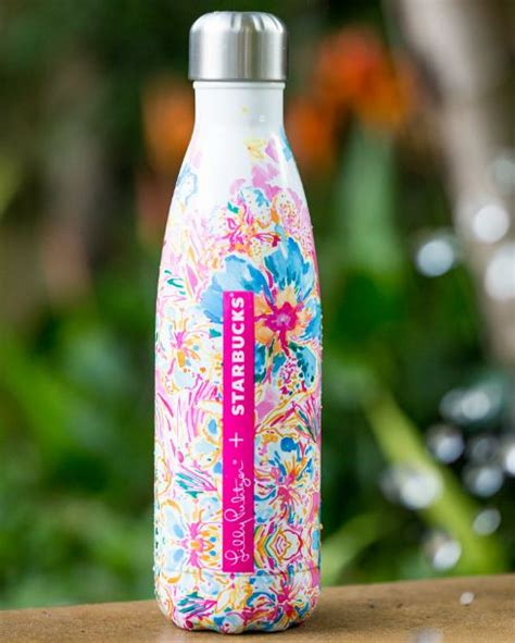 starbucks lilly pulitzer swell lilly pulitzer s well bottles available at starbucks