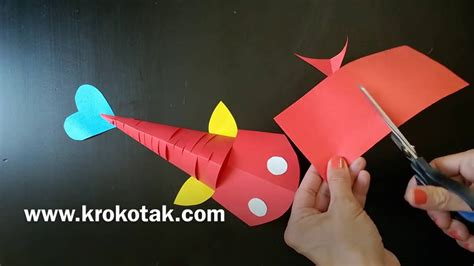How To Make A 3d Fish Out Of Paper - how to make moving fish