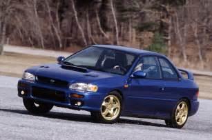 subaru coupe rs 1999 2001 subaru impreza 2 5 rs coupe america gc