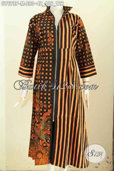 Amarsa Dress Gamis Wanita Berhijab model baju batik wanita gamis resleting depan pakaian