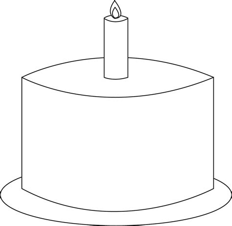 birthday candle template images