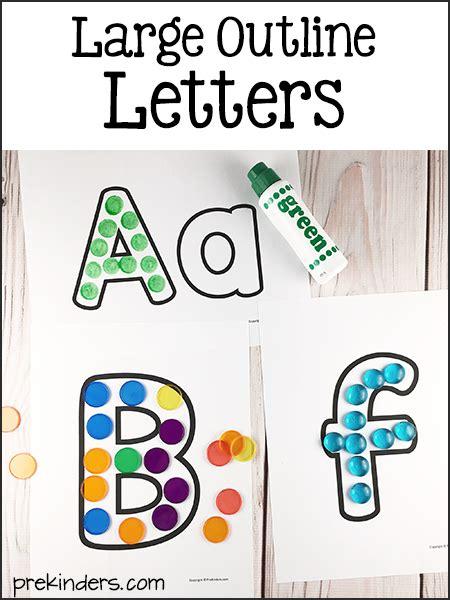 alphabet printables pre preschool kindergarten