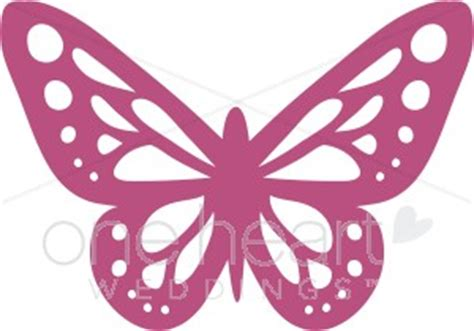 butterfly accent clipart | wedding bird and butterfly clipart
