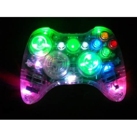 Xbox 360 Minecraft Aufkleber by Color Changing Led Xbox 360 Modded Controller