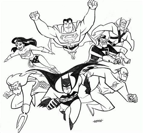 printable coloring pages justice league justice league coloring pages best coloring pages for