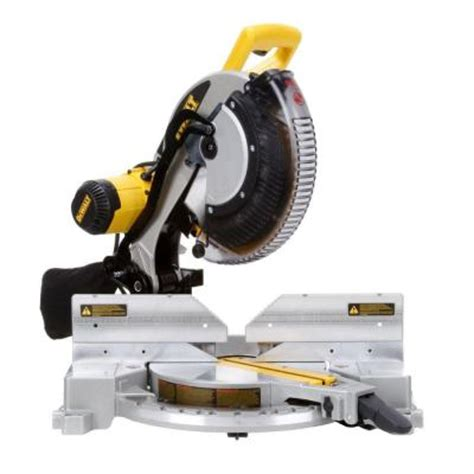 dewalt 15 12 in bevel compound miter saw dw716