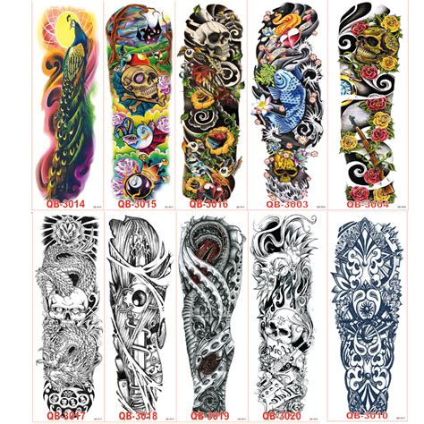 temporary tattoo paper wholesale 45 sleeves promotion shop for promotional 45 sleeves on