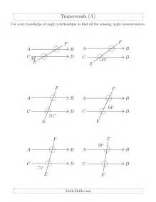 geometry angle relationships worksheets davezan
