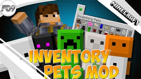 minecraft inventory pets mod  wfamian youtube