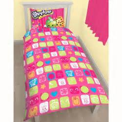 Pink Curtains Ebay Shopkins Single Duvet Cover Amp Pillowcase Set New