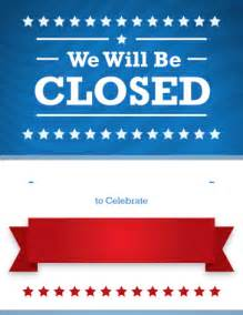 business closed sign template modal title