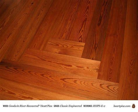 Heart Pine Classic   Engineered   Wood Flooring