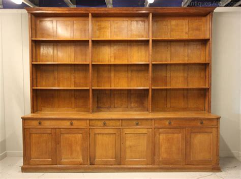 Oak Book Shelf by Fabulous Antique Oak Bookcase Antiques Atlas