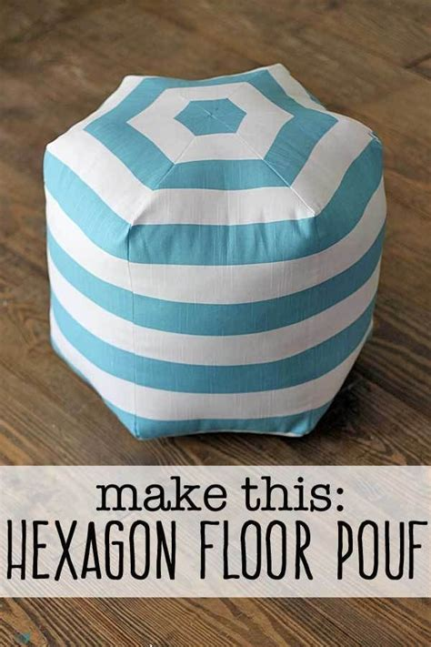 1000 ideas about floor pouf on knitted pouf