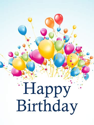 Happy Birthday Card Mba by Your Birthday Gently Breezes In Is Filled With