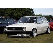 Dropped VW Golf MK2  Cars One Love