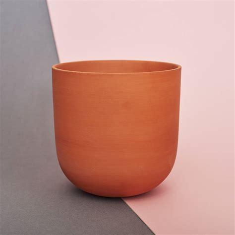 Handmade Terracotta Pots - handmade terracotta plant pot macrame pot by koala
