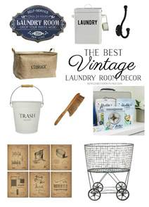 Laundry Room Decor Accessories The Best Vintage Laundry Room Decor Giveaway So Much Better With Age