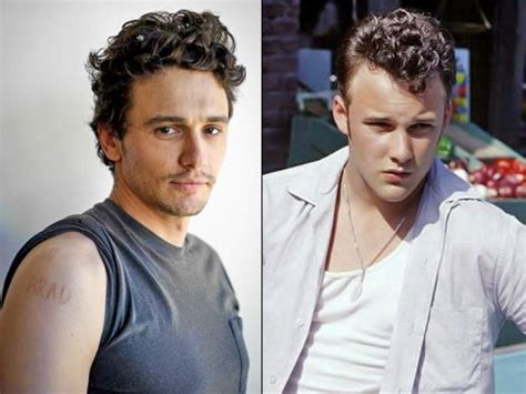 james franco tattoos franco designs switchblade in memory of actor brad