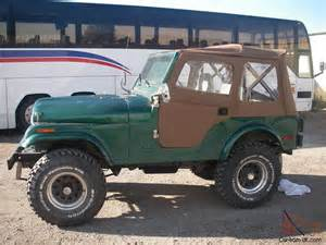 1976 jeep cj5 base sport utility 2 door w 360 cid engine