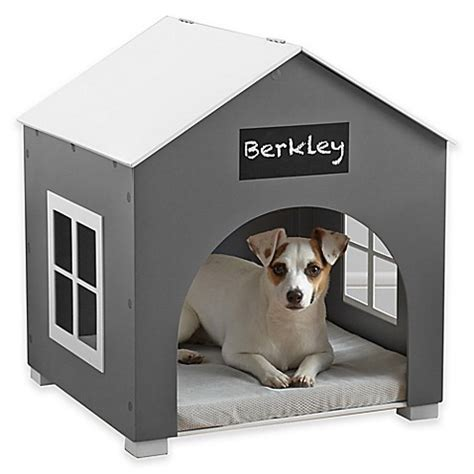 indoor dog house bed pawslife indoor pet house in white grey bed bath beyond
