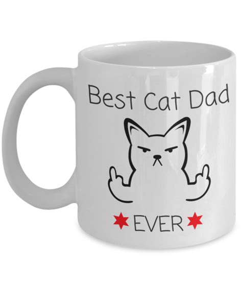 best cat mom ever mug novelty coffee cup best cat dad ever white ceramic
