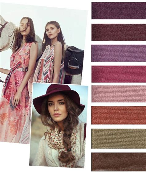 7 Trendy Fashion Colors For Winter by Fall Winter 2016 2017 Trend Teaser From Design Options