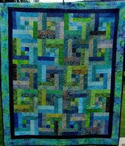 Jelly Roll Contemporary Quilts