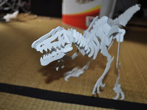 Puzzle 3d Kayu Velociraptor velociraptor 3d puzzle dino by hoctopusse thingiverse