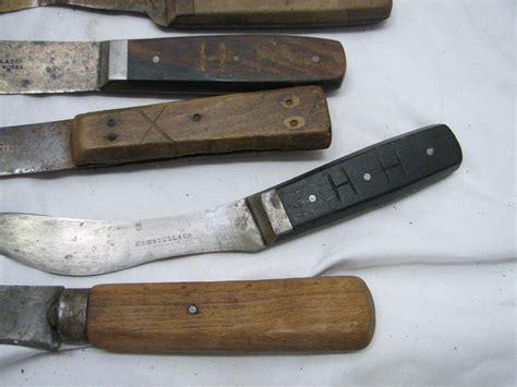 knives for butchering set collection 20 antique butcher s knives butchering