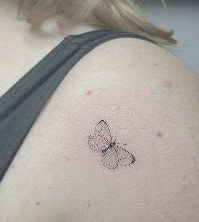 very small butterfly tattoos the 25 best small butterfly ideas on