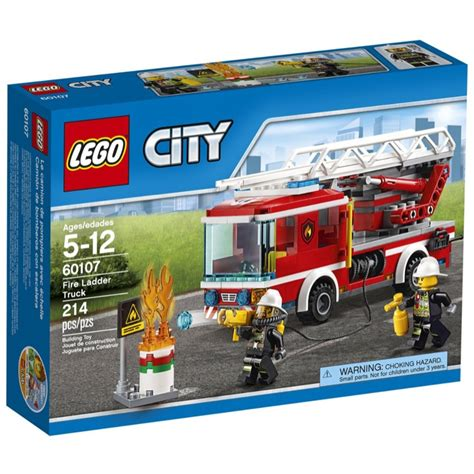 town sets lego town sets city 60107 ladder truck new