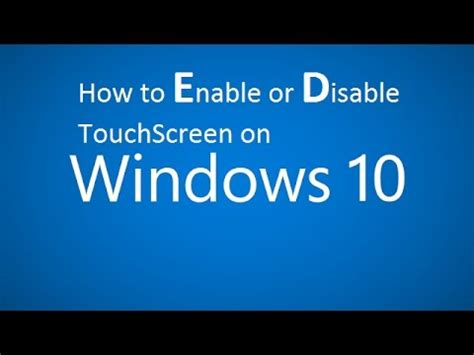 fix: enable touchscreen google chrome windows 10 | doovi