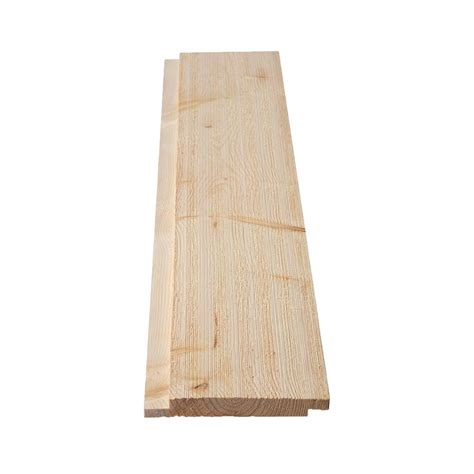 Wood Shiplap by 1 In X 6 In X 12 Ft Barn Wood Shiplap Pine Board 299794
