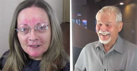 60th birthday hair makeover wife gets makeover as 60th birthday present husband can