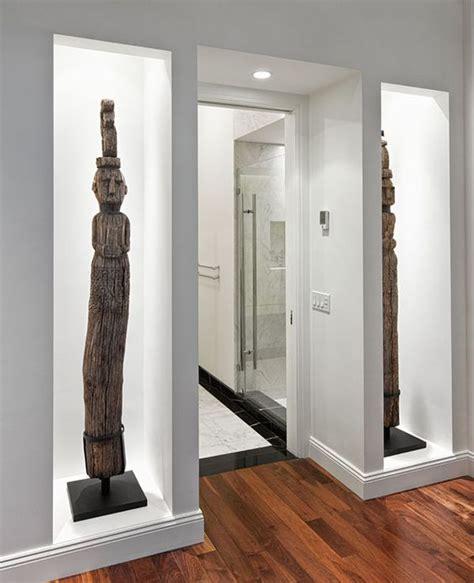 recessed wall niche decorating ideas virtus design s mile apartment combination