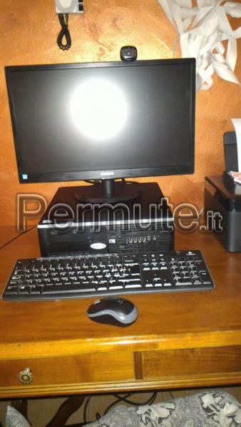 pc da tavolo pc da tavolo bergamo usato in permuta monitor pc permute it
