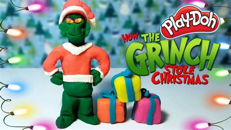 christmas play doh toys   grinch stole christmas