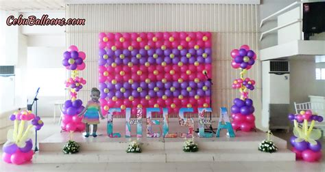 Balon Dekor bongga decor packages cebu balloons and supplies