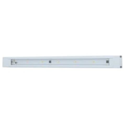 Ge 18 In Led White Under Cabinet Light 12689 The Home Depot Ge Cabinet Lights