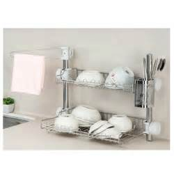 Kitchen Shelf Rack Set Stainless Steel by New Stainless Steel Stand Dish Drying Rack Shelf Sink