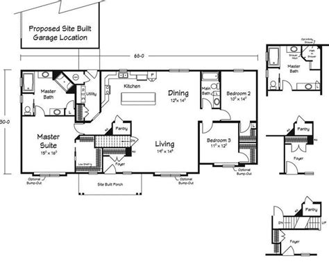 modular home floor plans michigan new home plans